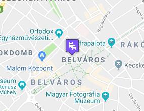 Aranyhomok Business & Wellness Hotel a térképen