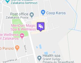 MenDan Magic Spa & Wellness Hotel a térképen