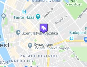 City Hotel Unió  a térképen